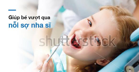 sợ nha sĩ ở trẻ em