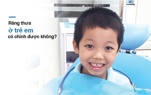 Răng thưa ở trẻ em chỉnh tại nha khoa Westcoast
