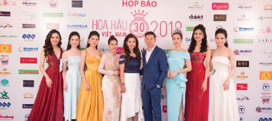 Đại Diện Westcoast tại buổi họp báo cuộc thi Hoa hậu Việt Nam 2018