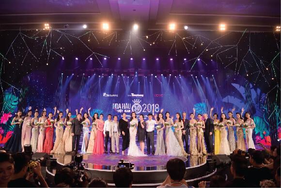 Top 19 của Hoa hậu Việt Nam 2018