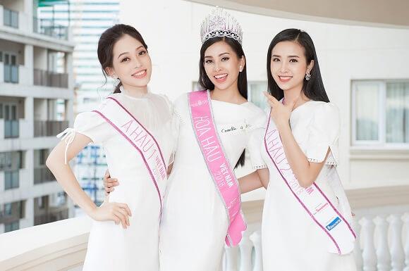 top 3 hoa hậu là đại sứ chương trình sứ mệnh nụ cười tại westcoast