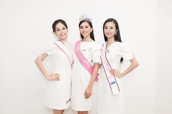 top 3 hoa hậu là đại sứ chương trình sứ mệnh nụ cười của nha khoa westcoast