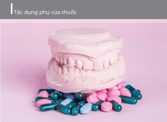 Tác dụng phụ của thuốc kháng sinh gây răng bị ố vàng