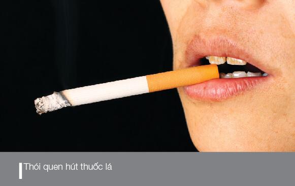 Hút thuốc lá rất dễ gây răng bị ố vàng