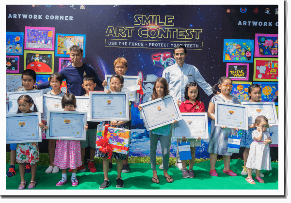 Top 2- Smile Art Contest 2018