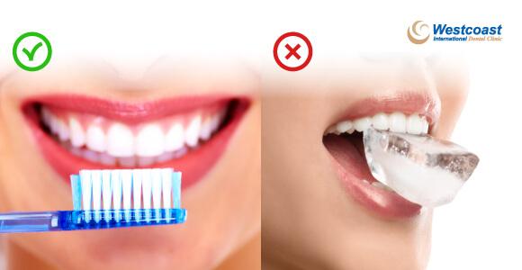 nên và không nên khi chăm sóc răng sứ tại nhà