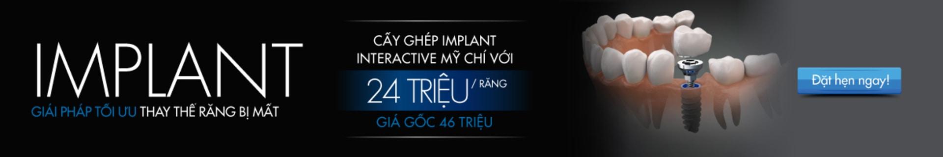 Nha khoa Westcoast: Ưu đãi cấy ghép Implant